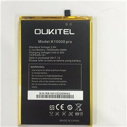 Original Battery for OUKITEL K10000 Pro