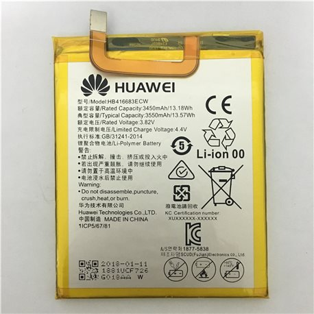 Battery for Huawei Google Nexus 6P / H1511 / H1512