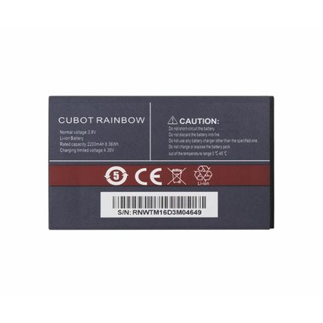 New Battery for CUBOT Rainbow 2200mAh - Fast Shipping from Europe