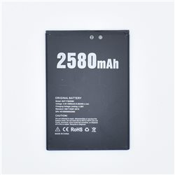 New Battery for DOOGEE X20 2580 mAh - Fast Shipping from Europe