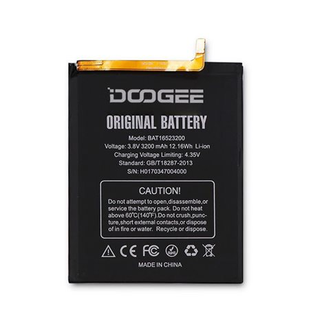 New Battery for DOOGEE Y6C and DOOGEE Y6 - Fast Shipping from Europe