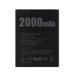 New Battery for DOOGEE X50 Smartphone 2000mAh - Fast Shipping from Europe