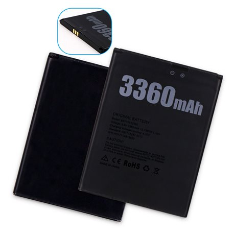 New Battery for Doogee X30 Smartphone - Fast Shipping from Europe