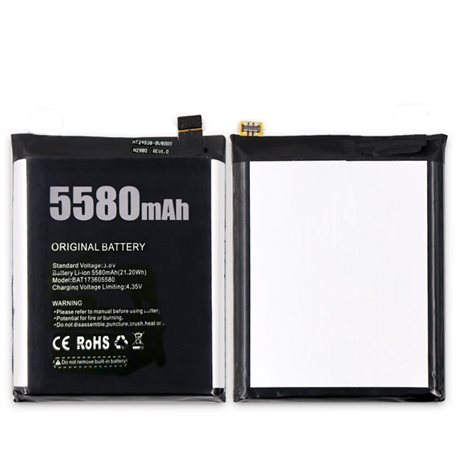 New Battery for DOOGEE S60/S60 Lite Smartphones - Fast Shipping from Europe