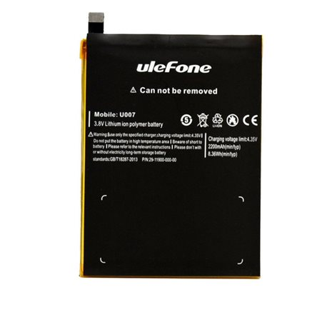 New Battery for Ulefone U007 Smartphone - Fast Shipping from Europe