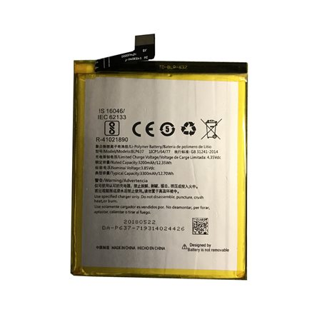 New Battery BLP637 for OnePlus 5 / OnePlus 5T - Fast Shipping from Europe