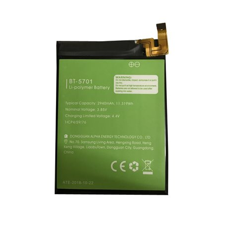 New Battery BT-5701 for LEAGOO S8 Smartphone - Fast Shipping from Europe