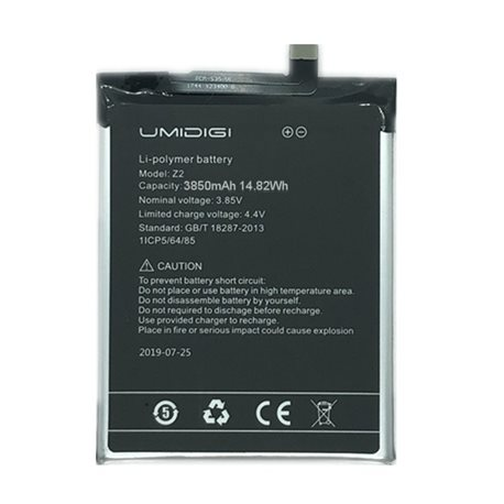 New Battery for UMIDIGI Z2 Smartphone - Fast Shipping from EUROPE