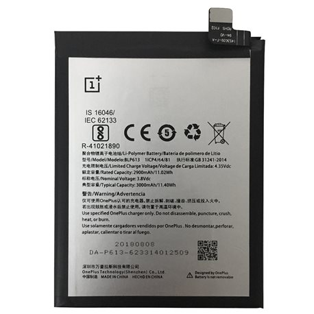 New Battery BLP613 for ONEPLUS 3 Smartphone - Fast Shipping from Europe