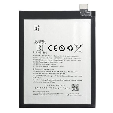 New Battery BLP633 for ONEPLUS 3T Smartphone - Fast Shipping from Europe