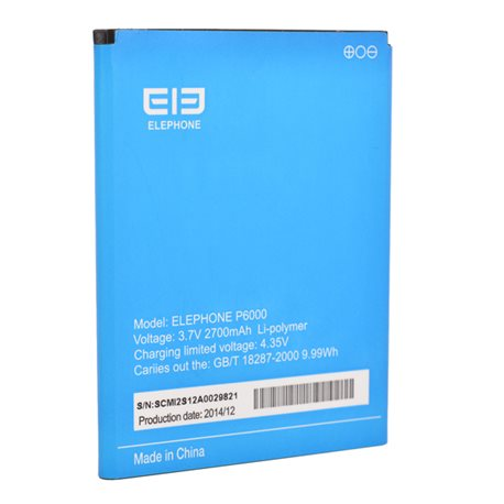 Original 2700mAh Replacement Battery For Elephone P6000
