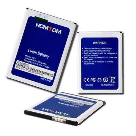 Original Battery 3000mAh for Homtom HT3 HT3 Pro