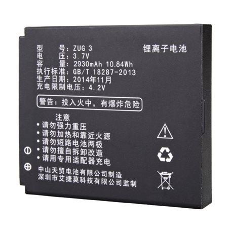 Original 2930mAh Battery For MANN ZUG 3 Smartphone