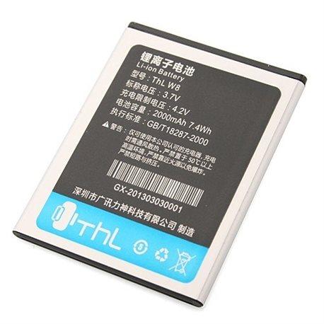 2000mAh Original Battery For THL W8 W8+ W8 Beyond Smart Phone