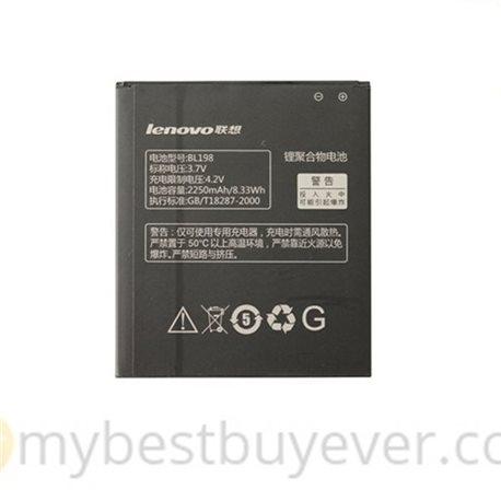 Original Lenovo BL198 2250mAh Battery For Lenovo A850 K860i S880i S890