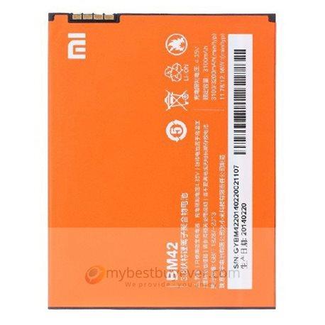 Original 3100mAh Xiaomi Hongmi Redmi NOTE Battery Orange