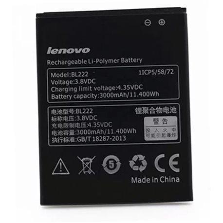 3000mAh Lenovo BL222 Replacement Battery For Lenovo S660