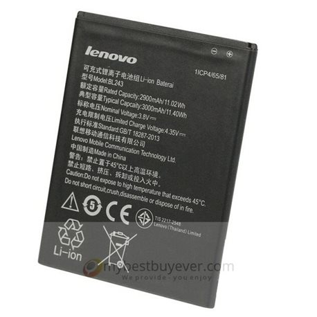 Original 3000mah BL243 Battery For Lenovo K3 NOTE and Lenovo S8 A7600