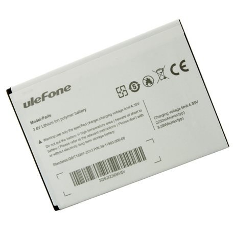 Original 2250mAh Battery For Ulefone Paris