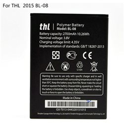 Original THL 2015A THL 2015 BL-08 2700mAh Battery