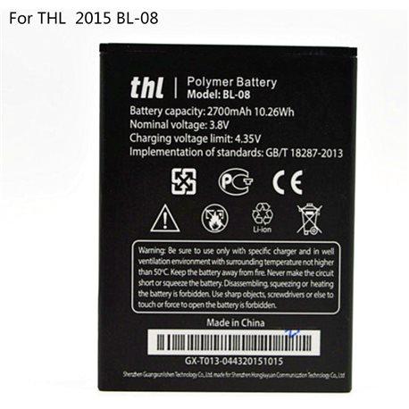 Original THL 2015A THL 2015 BL-08 2700mAh Battery