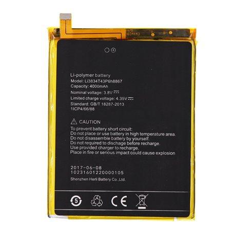 Top Quality Li3834T43P6H8867 για UMI Super 4000mAh