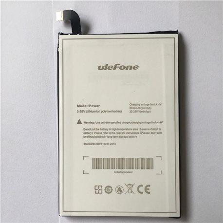 Battery for ULEFONE POWER Χωρητικότητας 6050mAh